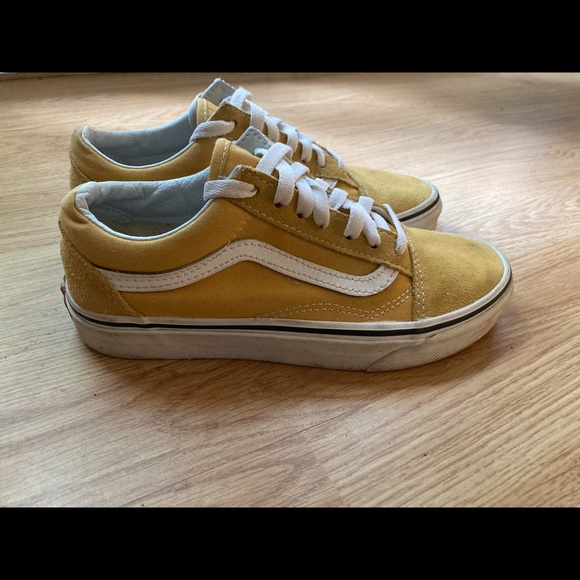 Vans Shoes | Mustard Yellow Old Skool